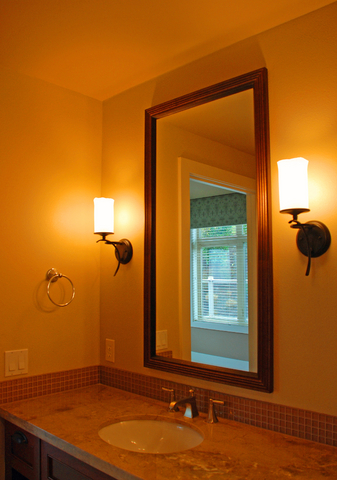 Bathroom vanity lighting choose and position lights and light bathroom vanity lighting glare aloadofball Image collections