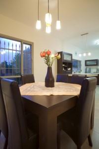 Kitchen table pendants