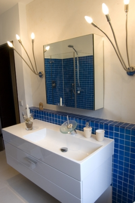 Bathroom Vanity Lighting: Choose and Position Lights and Light Fixtures Home Lighting Tips