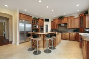 Recessed Lit Kitchen