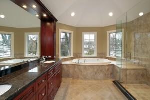 Sunlit Bathroom