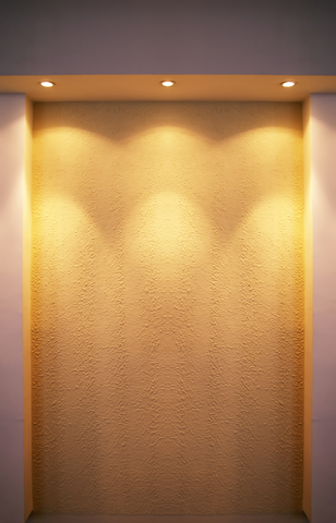 Recessed lighting layout finding the right spacing and locations wall washing aloadofball Gallery